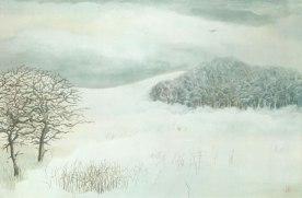 Woolsthorpe by Belvior Under Snow